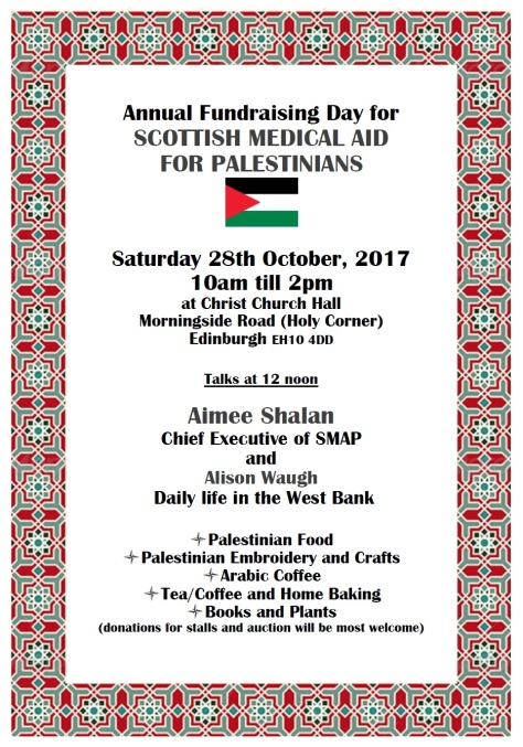 SMAP fundraising day 2017
