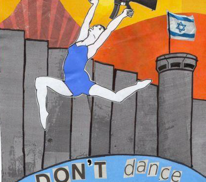 Protest against Israeli dance company L-E-V, 9-12 August